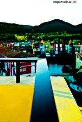 Port Grimaud (Frankreich) als Farbkasten