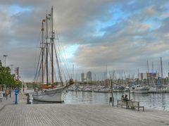 Port jachtowy w Barcelonie