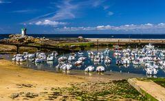 Port, Pointe de Trévignon, Bretagne, France