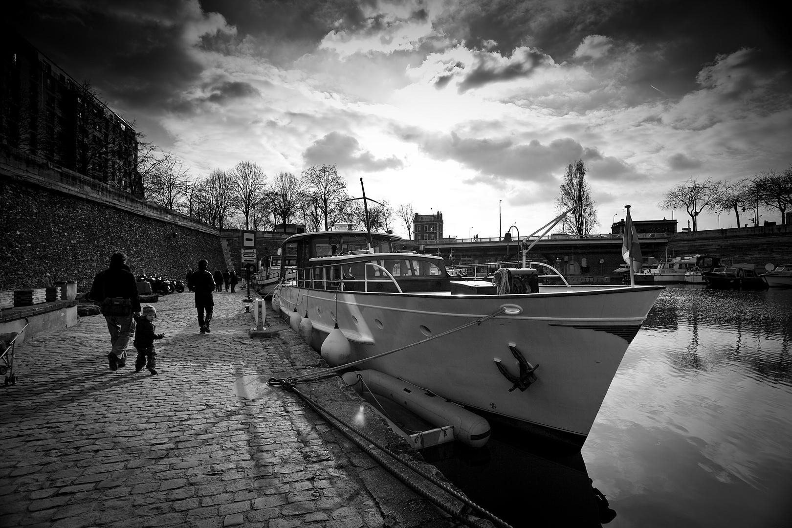 Port près de Bastille