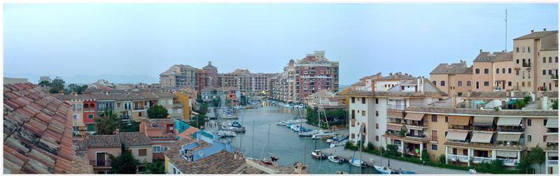 Port saplaya (Alboraya) - Yacht Hafen bei Valencia.