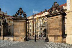 Porta di Mattia, Castello di Praga