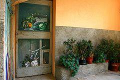 Porta dipinta