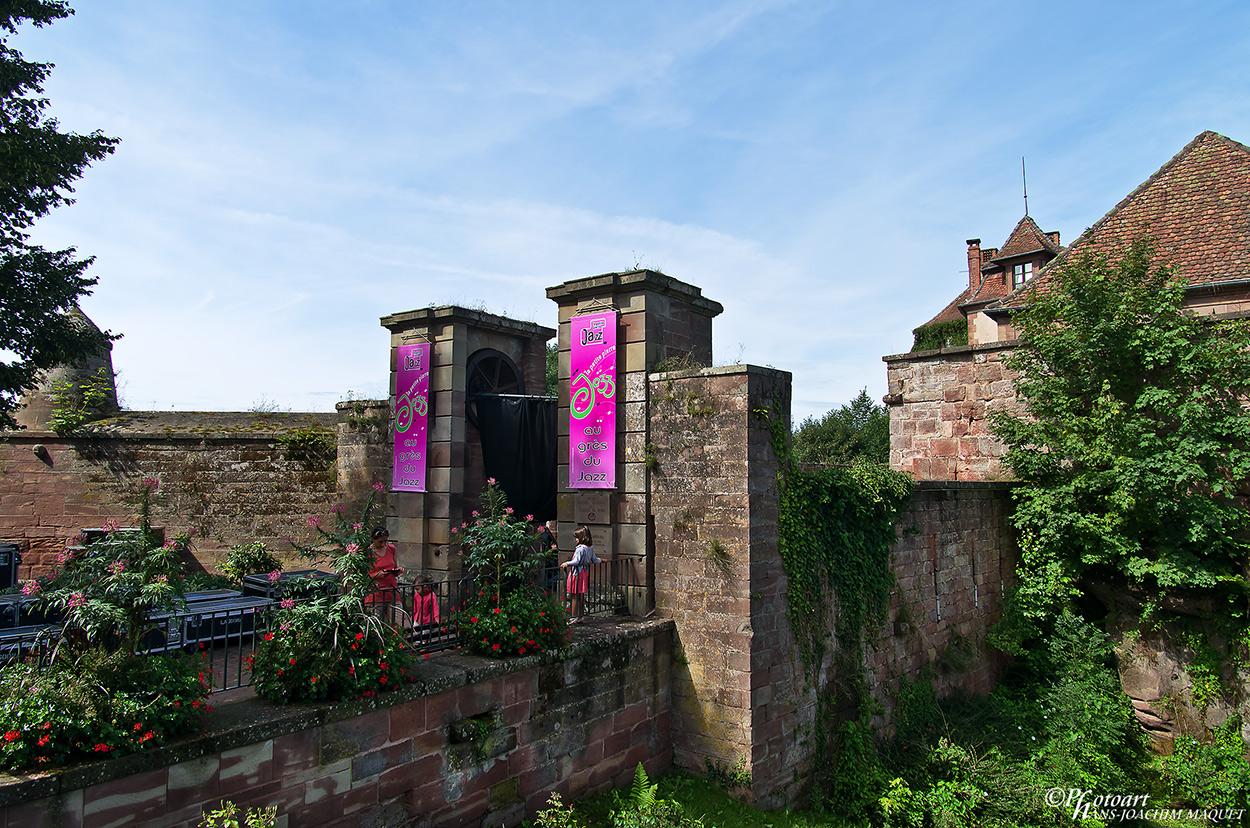 Portal Burg Lützelstein