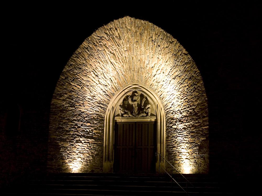 Portal der St.-Annen-Kirche in Annaberg-Buchholz