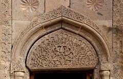 Portal einer Kirche von Goschawank
