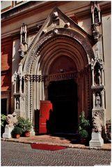 Portal S.Agostino church