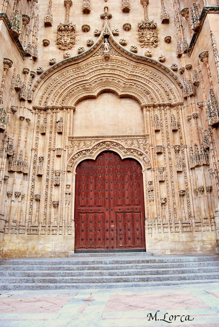 portalon de la catedral Salamanca