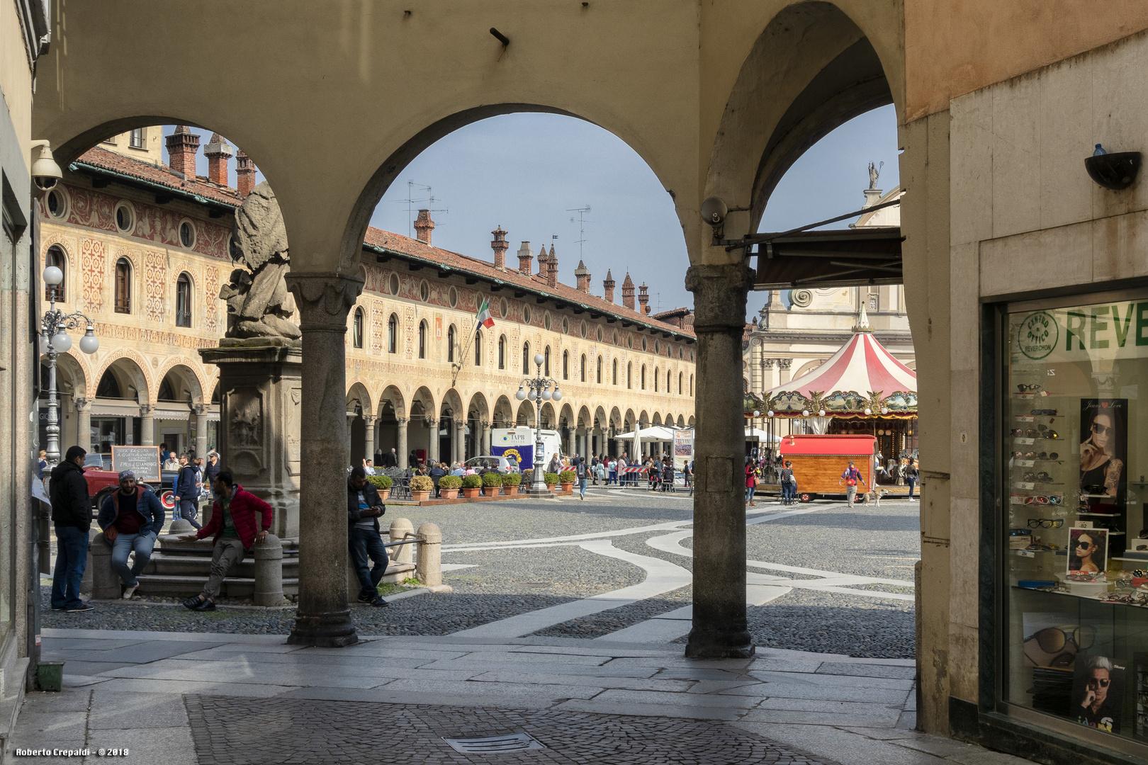 Portici di Piazza Ducale, Vigevano