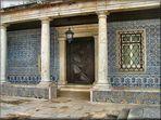 Portico del convento.