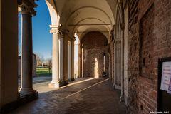 Portico ingresso, Abbazia di Chiaravalle