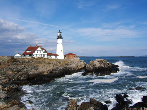 Portland Headlight, Cape Elizabeth, Maine