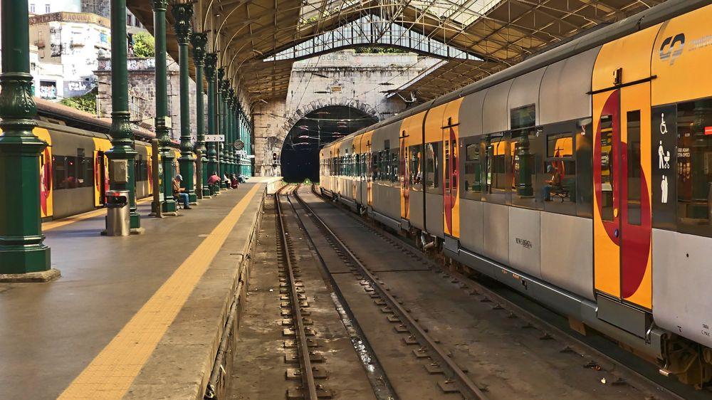 Porto-Bahnhof