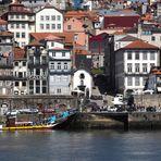 Porto Blick auf Alstadtviertel Ribeira
