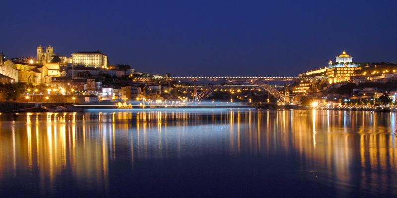 Porto by evening