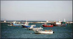 Porto di pesca. Fishing port. Fischerhafen