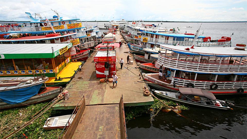 'Porto Flutuante' I, Manaus, Amazonas / BR