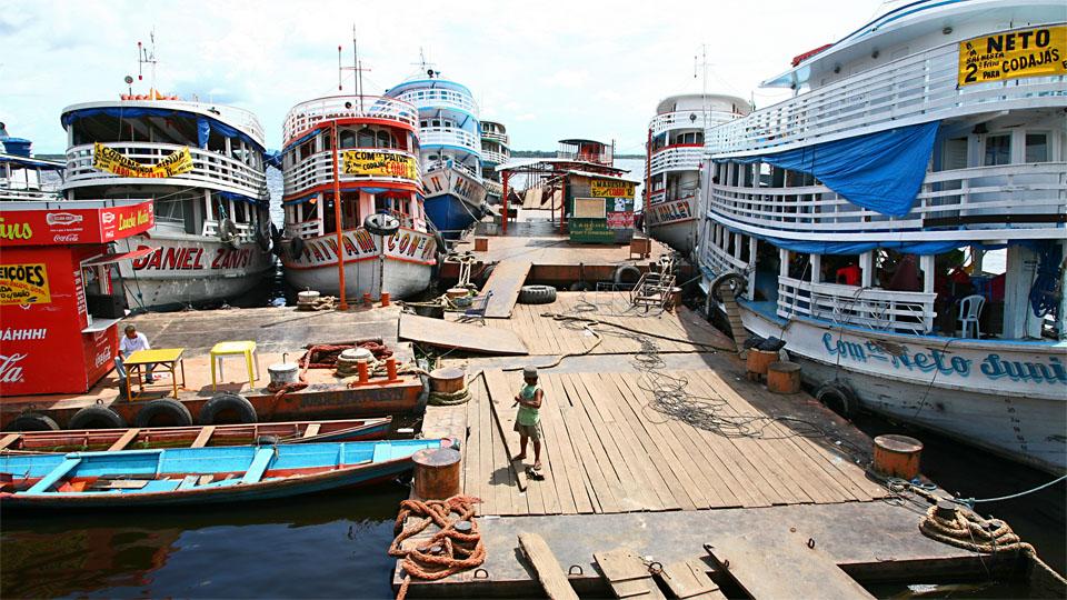 'Porto Flutuante' II, Manaus, Amazonas / BR