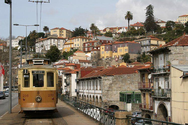 Porto im Frühling
