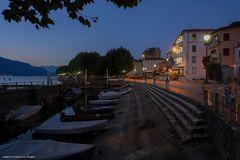 Porto Valtravaglia, vista sul porto