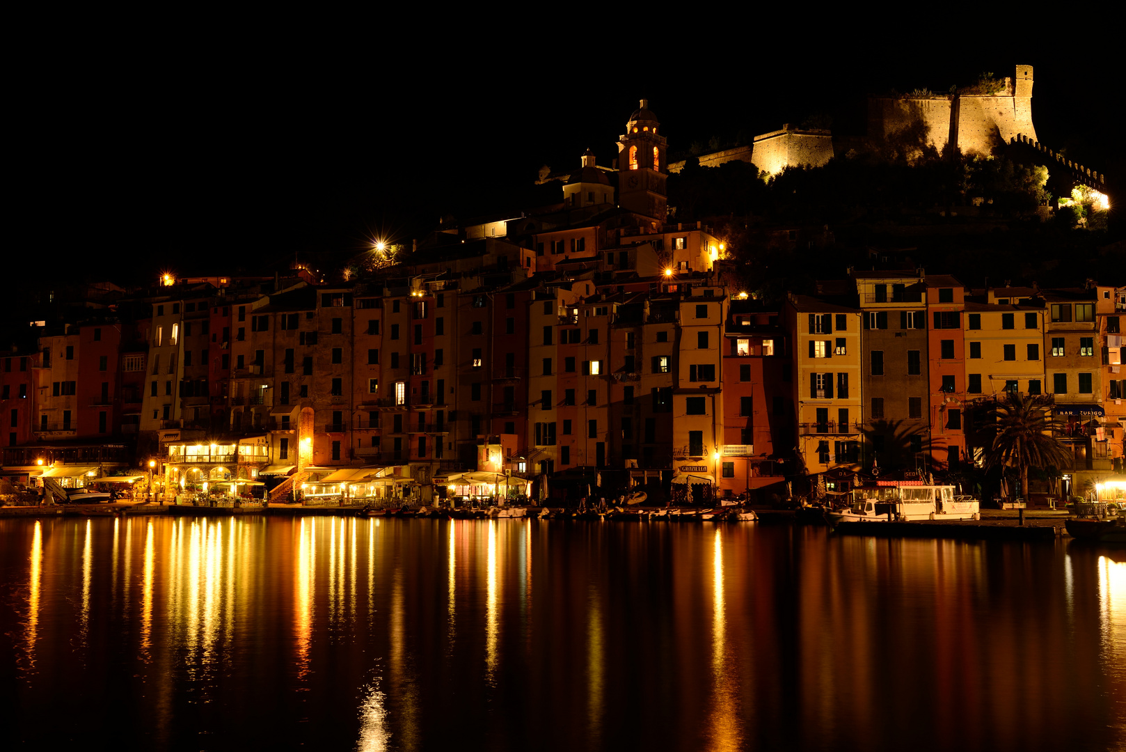Porto Venere bei Nacht