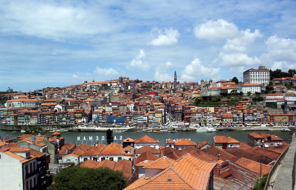 Porto vu de Gaïa, Portugal