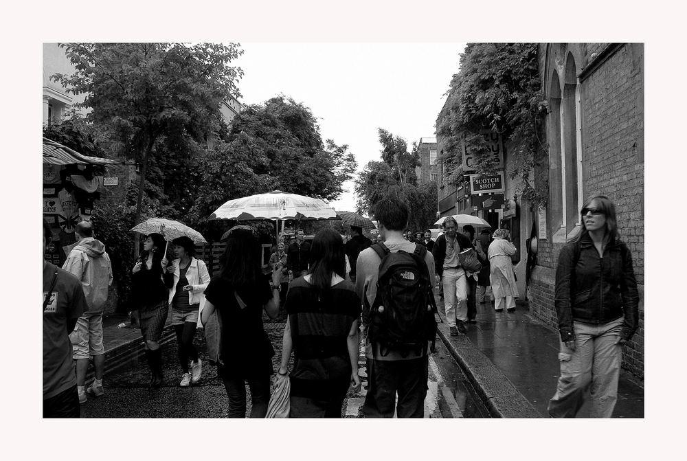Portobello Road im Regen