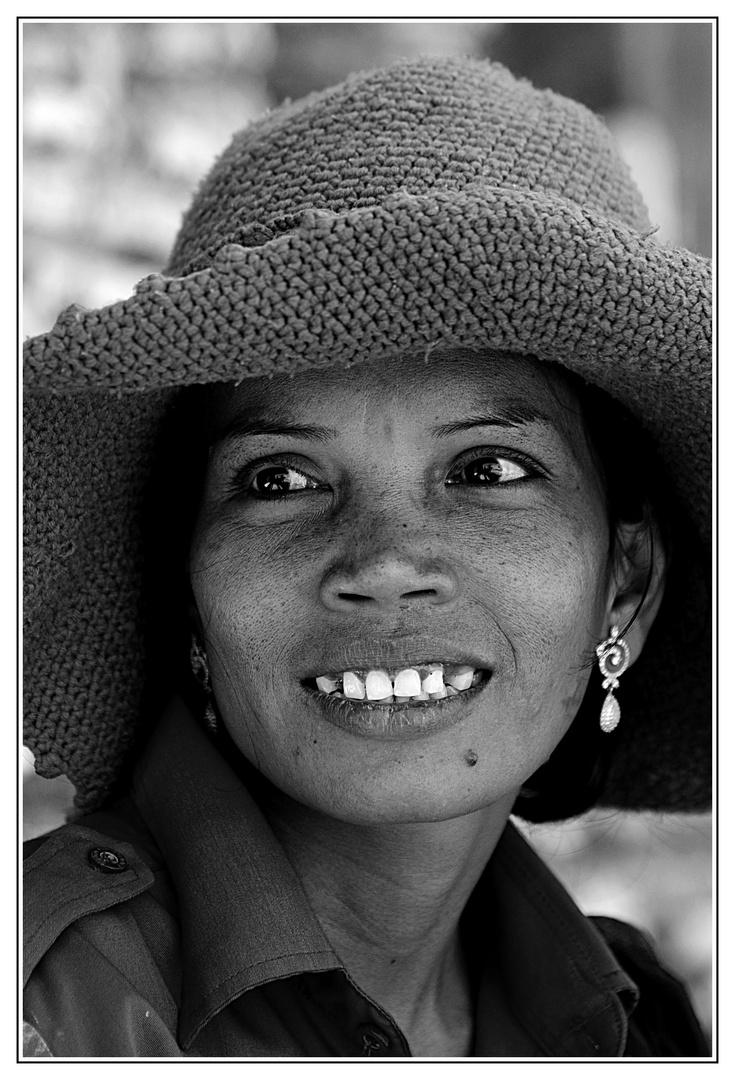 Porträt einer Fremdenführerin