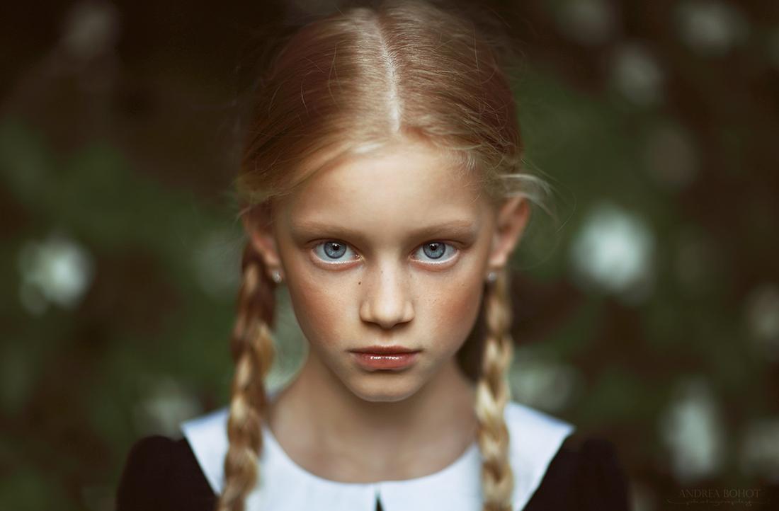Porträt eines Mädchens