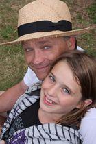 Porträt Vater und Tochter