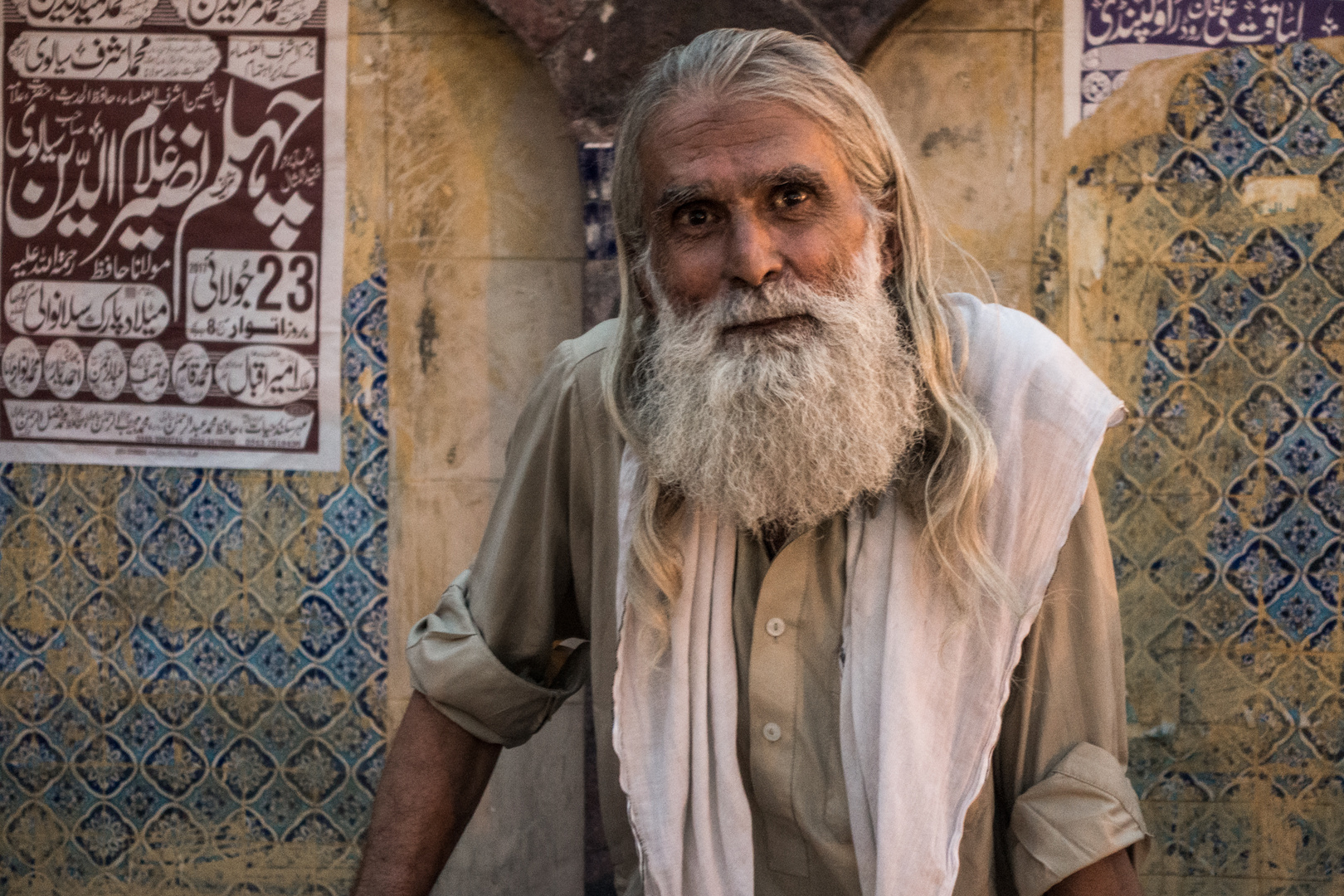 Porträts aus Pakistan: Begegnung am Rande des Basars in Rawalpindi