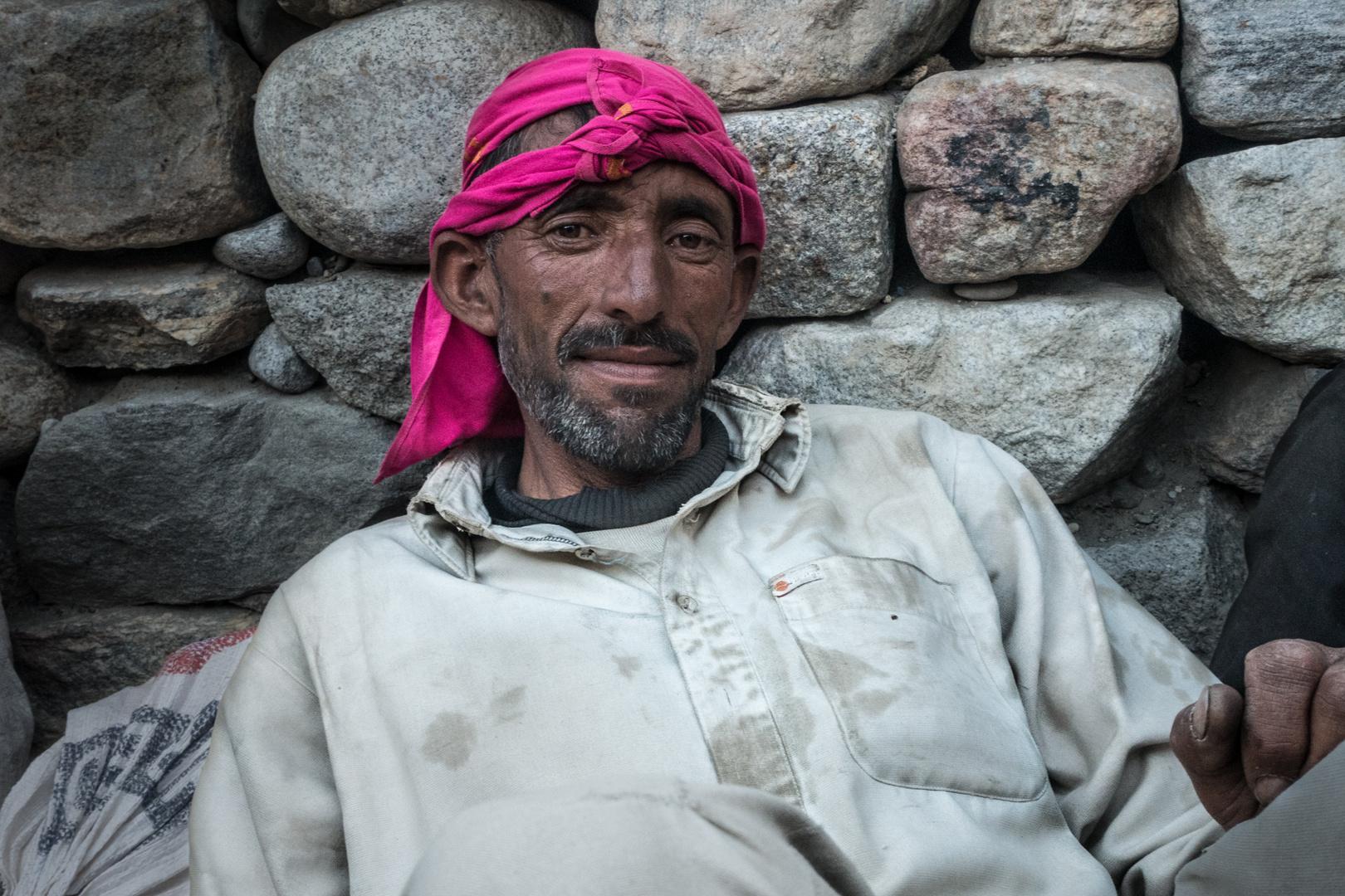 Porträts aus Pakistan: Träger im Baltorogebiet