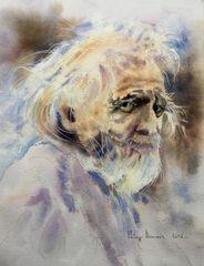 Portrait (3) - Le viel homme des bois