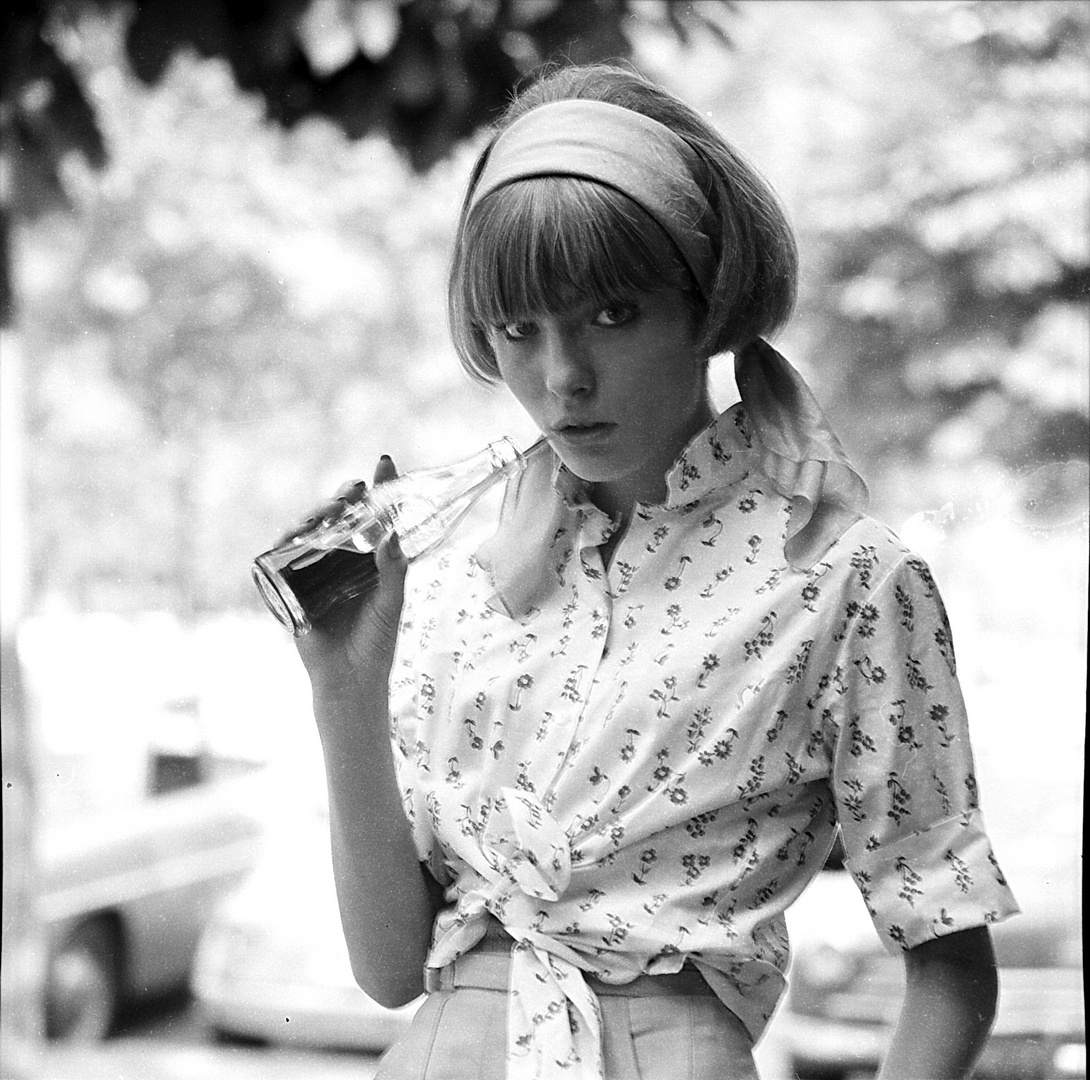 Portrait argentique NB 1964 (2)