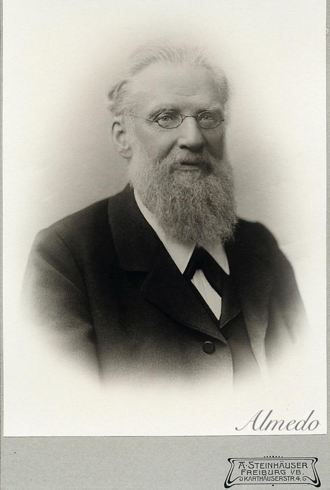 Portrait aus dem Jahr 1898...