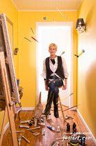 Portrait d'artiste