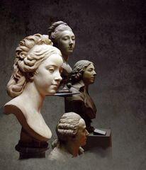 Portrait de groupe au Louvre