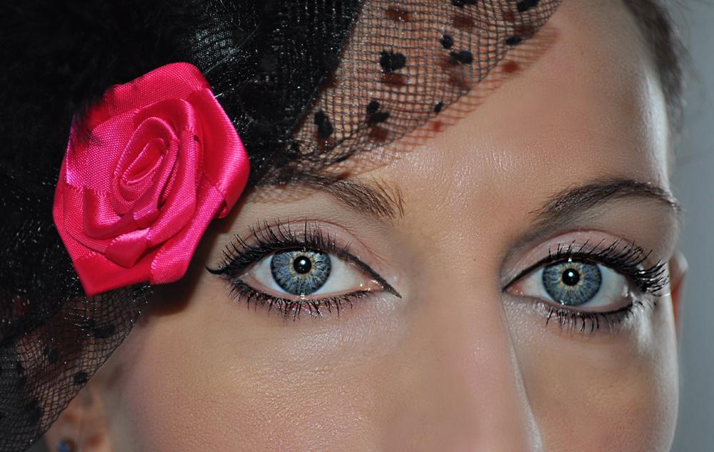 Portrait der Augen