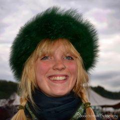 Portrait einer jungen Frau ...