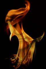 portrait enflammé