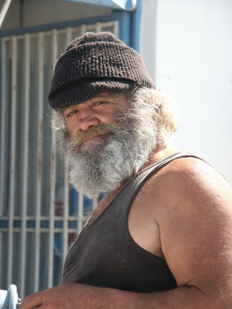 """Portrait """"Fischer auf Kalymnos"""" Griechenland"""
