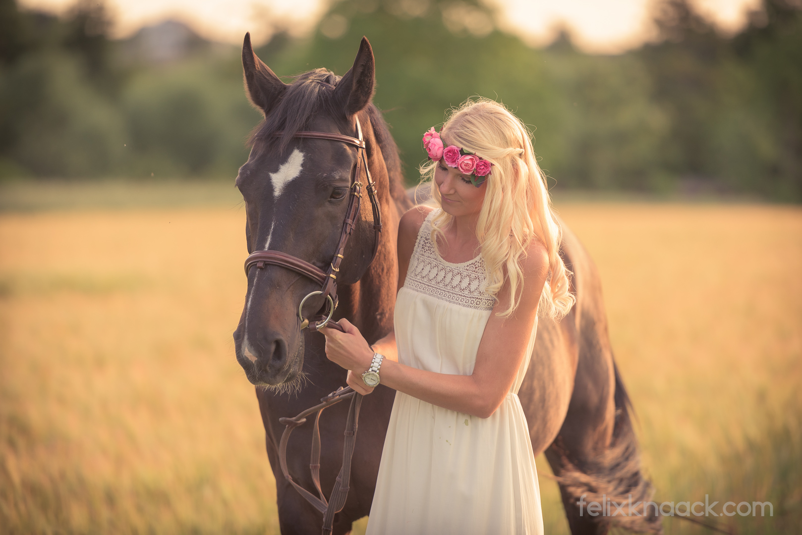 Portrait Frau und Pferd-1 Foto & Bild | outdoor, menschen
