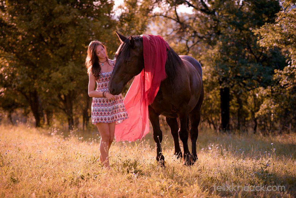 Portrait Frau und Pferd-5 Foto & Bild | outdoor, portrait