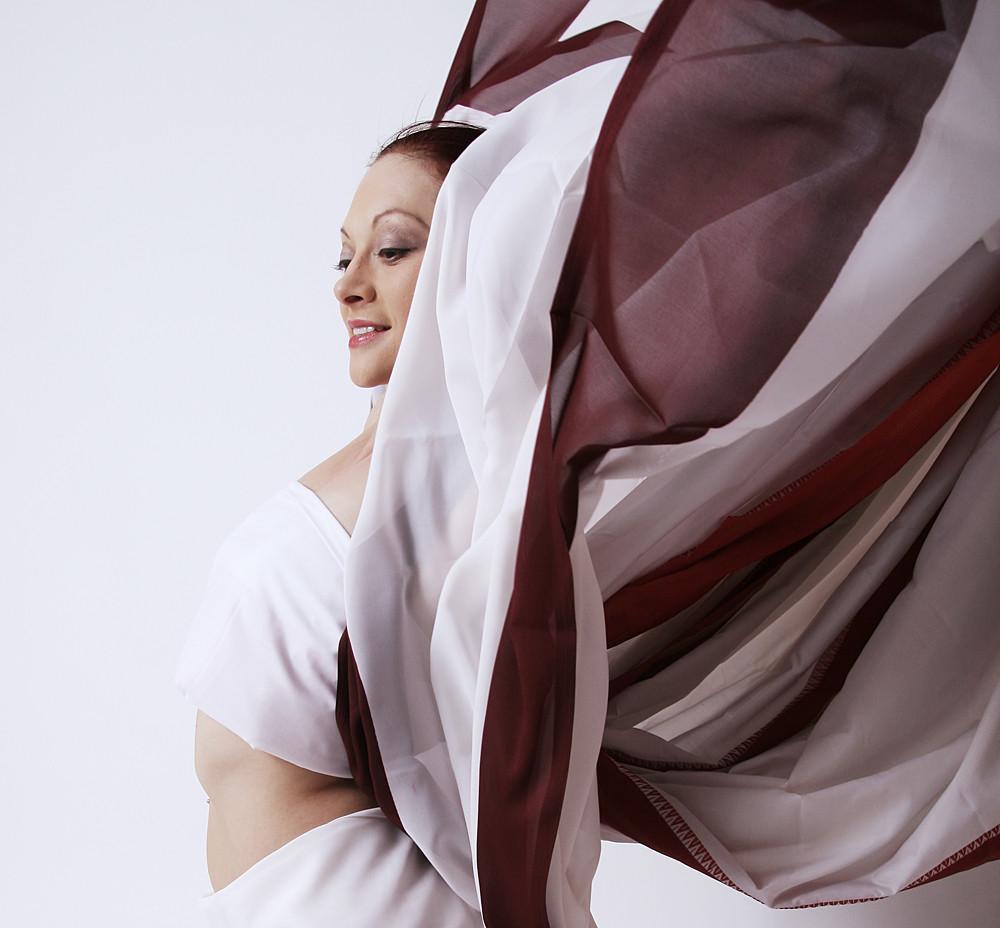 portrait im sari versteckt