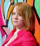 Portrait in Pink & Orange