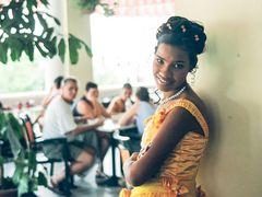 PORTRAIT junge Frau Cuba