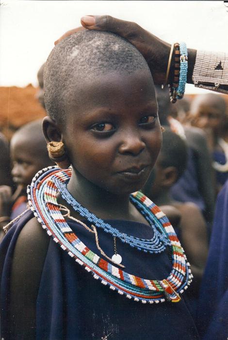 Portrait- Masay girl