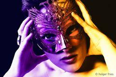 Portrait mit Maske_2