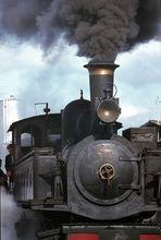 Portrait of a locomotive