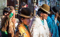 Portrait of Cholitas